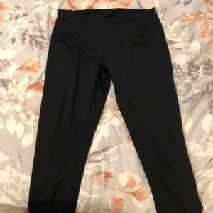 Zella leggings with ankle cutout